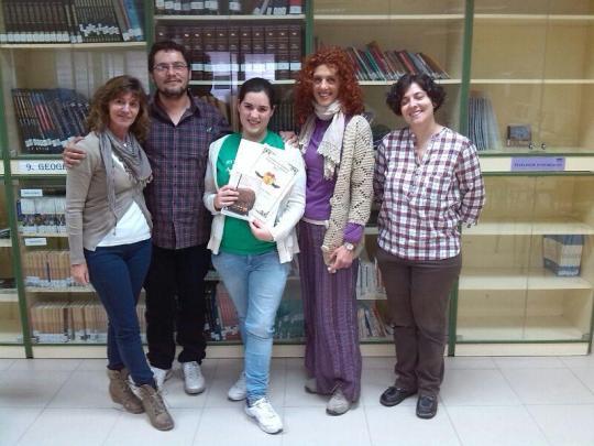 María García ganadora concurso literario