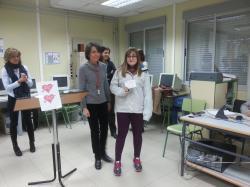 Sarah con Mª José