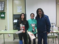 Mariana Agostinho y Lara Nevado con Eloy