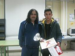 Mohamed El Karchough con Eloy
