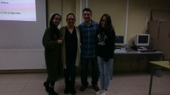 Nada, Andrea, Lilit y Chema