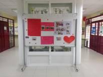 2020 Valentine HALL noticeboard